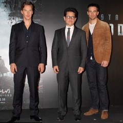 New! When JJ Abrams, Chris Pine and Benedict Cumberbatch visited Japan (Video)