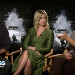 Karl Urban, Alice Eve & John Cho talk Star Trek Into Darkness (video)