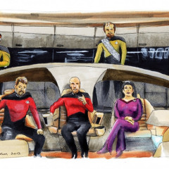 Star Trek The Next Generation 25th Anniversary – Make it So Print