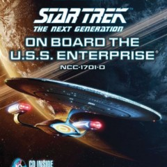TNG: On Board The USS Enterprise D Book Review by @darren73