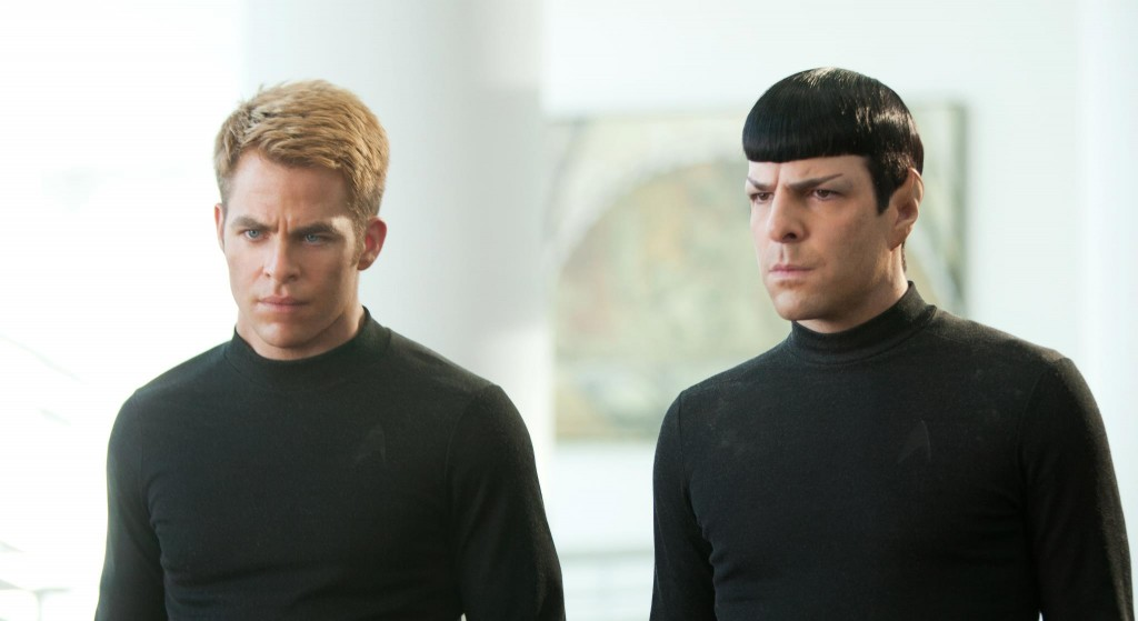 Kirk and Spock STID