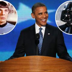 President Obama Regains Trek Cred?