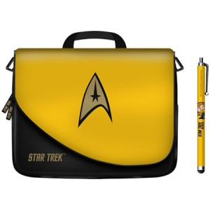 Star Trek - Tablet Storage Case and Stylus - Command Yellow