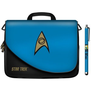 Star Trek - Tablet Storage Case and Stylus - Science Blue