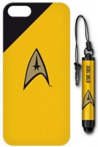 Star Trek - iPhone 5 Case and Stylus - Command Yellow Badge