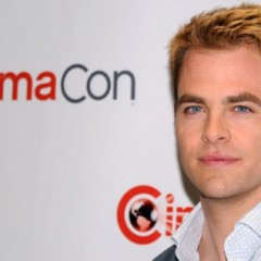 Chris Pine named CinemaCon 'Male Star of the Year'