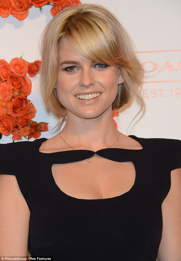Alice Eve  Coach benefit for the Children's Defense Fund