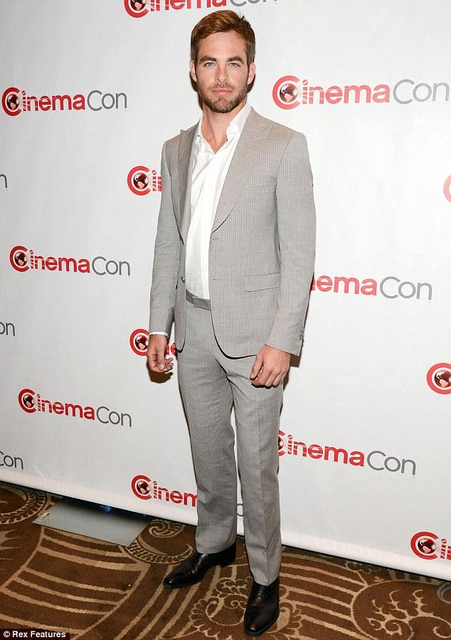 Chris Pine - Cinema Con