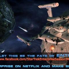 Star Trek Enterprise Season 5 Netflix Campaign