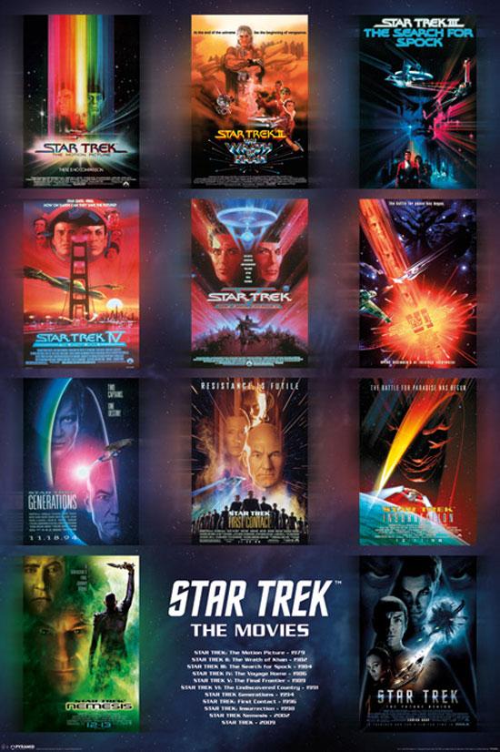 Star Trek Posters Available In The UK | Trek Mate