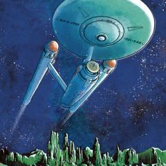 U.S.S Enterprise Print From Bye Bye Robot