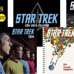 Star Trek Calendars 2014