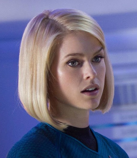 Alice Eve Talks More About Carol Marcus Trek Mate