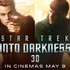 New! Star Trek Into Darkness 'Cinemosaic' Animated Poster