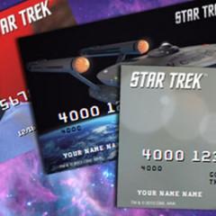 Star Trek Prepaid VISA Cards Now Available