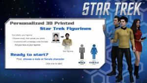 Cubify 3DMe Star Trek