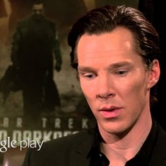 Benedict Cumberbatch Answers Questions About His Role In Star Trek Into Darkness With Google Play
