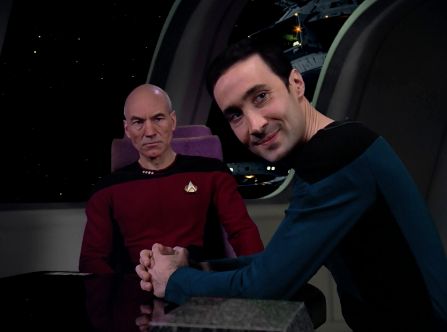 picard and maddox in star trek the next generation It's a collection of neural 1 [1] star trek the next generation picard then calls maddox to the stand and asks for the definition of a sentient being.