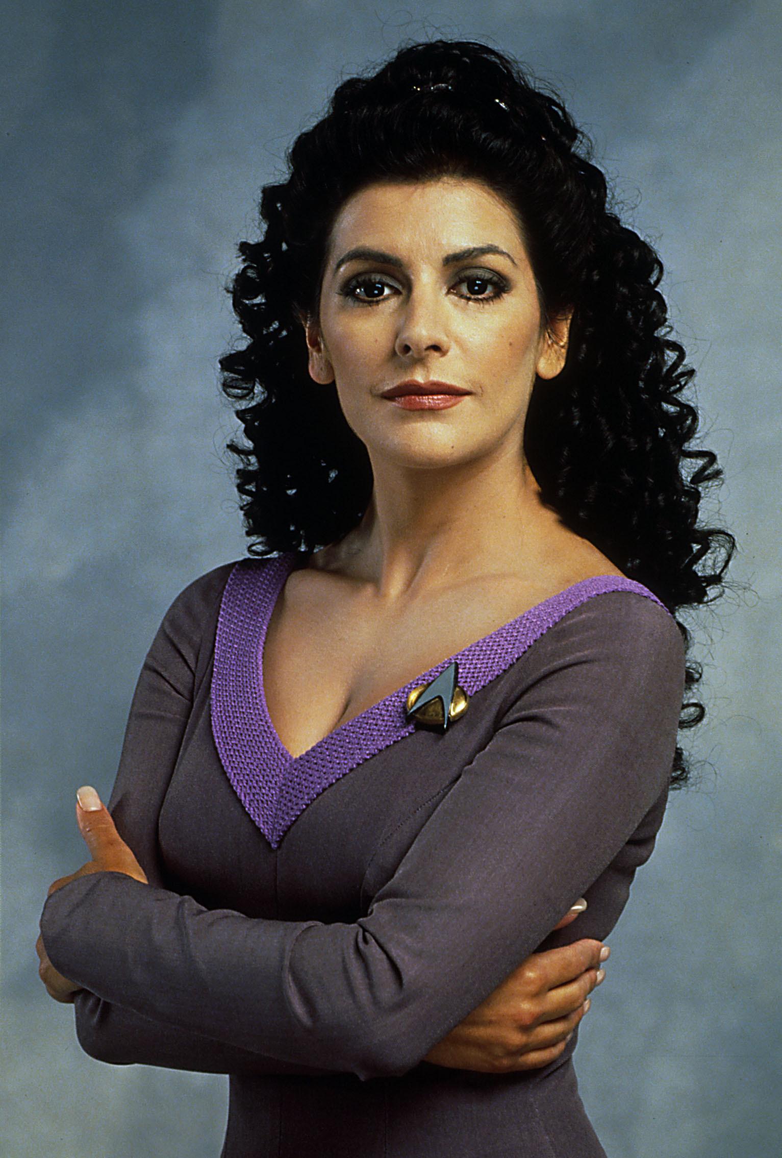 Image result for Marina Sirtis Star Trek