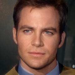 Star Trek actors combined in portraits