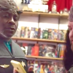 Klingons Appear In The New Apple Advert