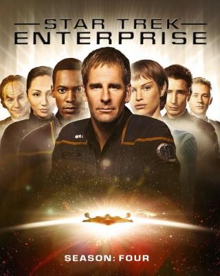 Enterprise Season 4 Blu-ray Cover