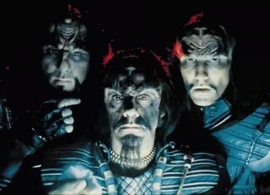 Three Klingons