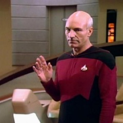 The Naked Now, TNG S1 E3 review, The Battle Bridge.