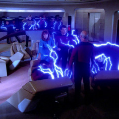 Lonely Among Us – TNG S1 E7 Review, The Battle Bridge