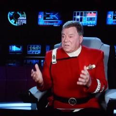 William Shatner sends Captain Kirk a message