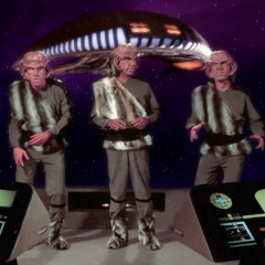 The Battle, TNG S1 E9 Review, The Battle Bridge