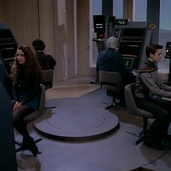Coming of Age – TNG S1 E19 Review, The Battle Bridge