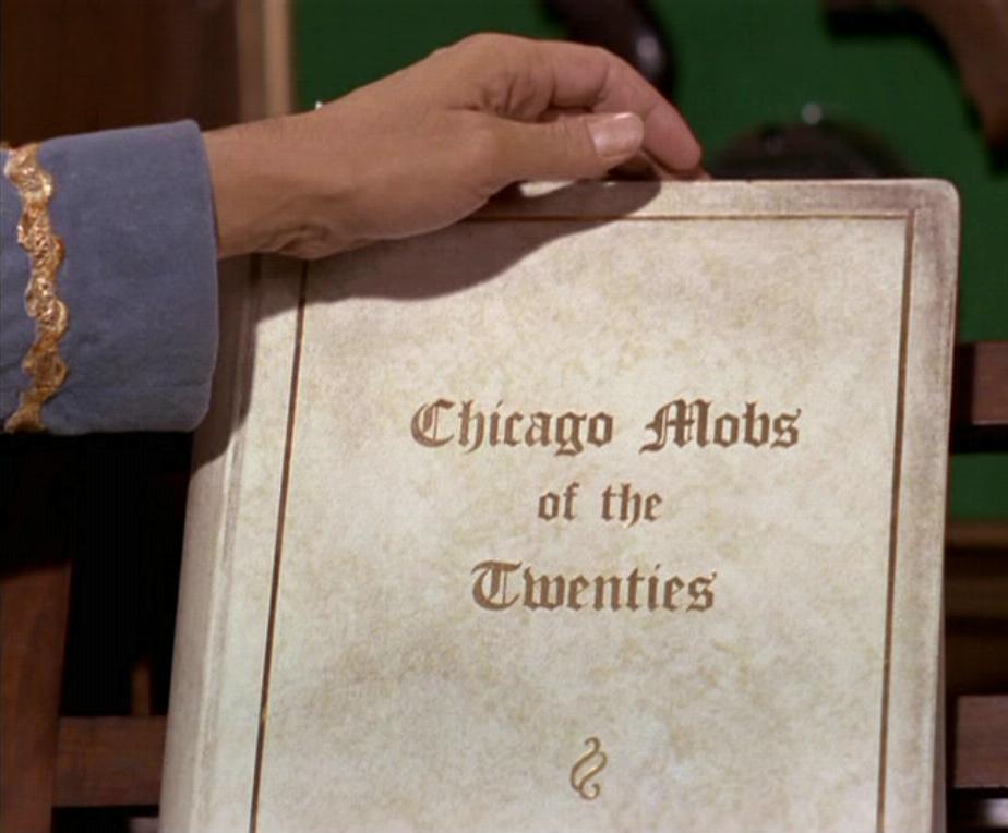 "Book ""Chicago Mobs of the Twenties"""