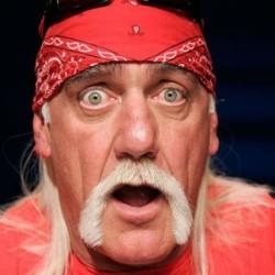 Hulk Hogan in shock!