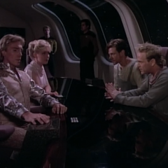 Symbiosis, TNG S1 E22 Review, The Battle Bridge