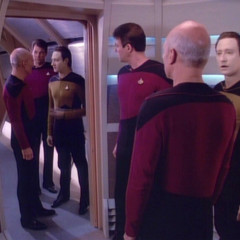 We'll Always Have Paris, TNG S1 E24 Review, The Battle Bridge