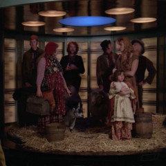 Up the Long Ladder, TNG S2 E18 Review, The Battle Bridge