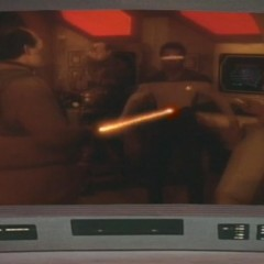 Samaritan Snare, TNG S2 E17 Review, The Battle Bridge