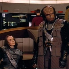 The Emissary, TNG S2 E20 Review, The Battle Bridge