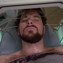 Shades of Gray, TNG S2 E22 Review, The Battle Bridge – Season 2 Finale