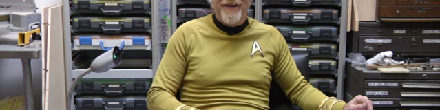 How to build captain Kirk's chair