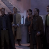 The Ensigns Of Command, TNG S3 E2 Review, The Battle Bridge