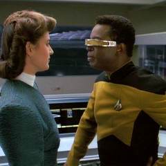 Booby Trap, TNG S3 E06 Review, The Battle Bridge
