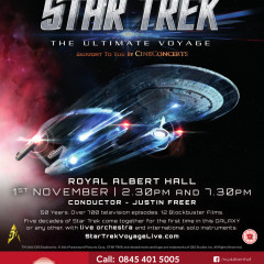 Win Tickets to the Star Trek: The Ultimate Voyage Concert in London