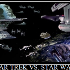 Sci Fi Waffle: Episode 6 – Star Trek vs Star Wars with John Lucas