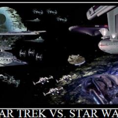 Sci Fi Waffle: Episode 6 – Star Trek vs Star Wars with John Lucas