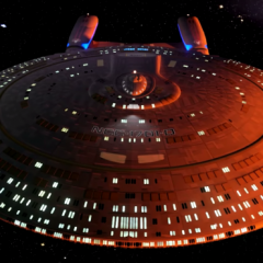 3D tour of the USS Enterprise