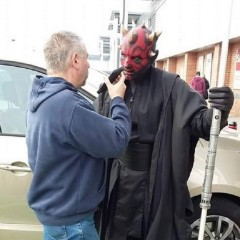 SciFiWaffle Episode 12a – An Interview with Darth Maul