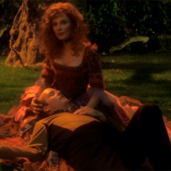Hollow Pursuits, TNG S3 E21 Review, The Battle Bridge