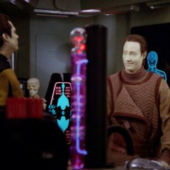 Brothers, TNG S4 E3 Review, The Battle Bridge